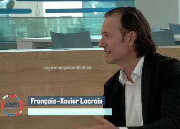 François-Xavier Lacroix, de Aguas Danone