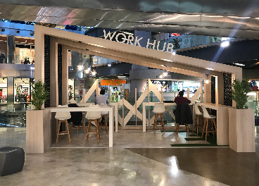 Work Hub en Zielo Shopping, de CBRE