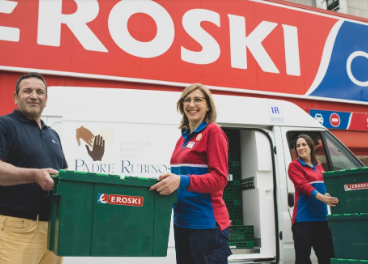 Donación de Eroski