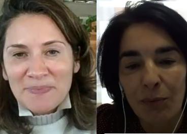 Marta García y Carmen Ponce, de Heineken