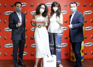 Ganadora concurso Chocolates Lacasa
