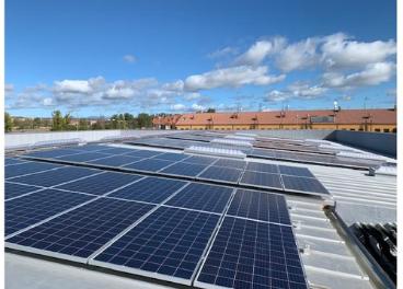 Instalación fotovoltaica masymas