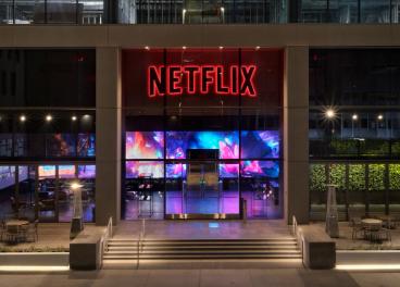 Primera tienda física de Netflix