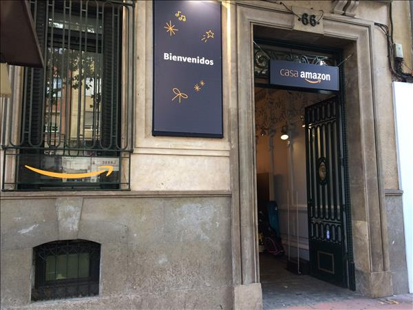 Inauguración de CasaAmazon en Madrid