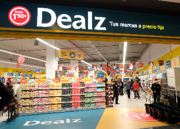 Dealz en el centro comercial Islazul (Madrid)