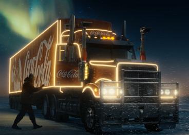 Fotograma del spot de Navidad de Coca-Cola
