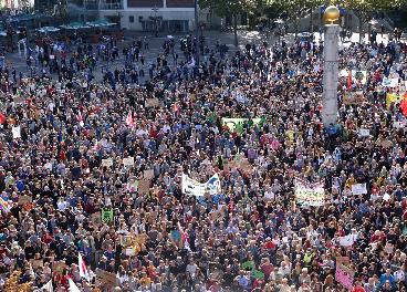 Manifestación de protesta