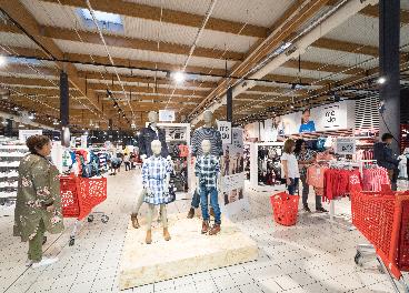 Sección textil de Eroski