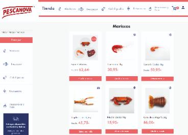 Tienda online de Pescanova