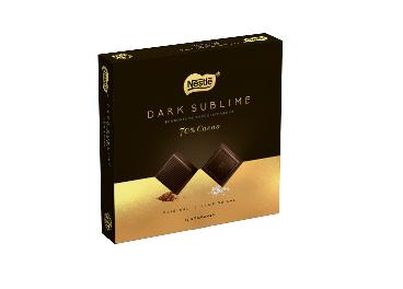 Nestlé Dark Sublime renueva formato