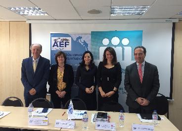 Presentación de la AEF del estudio de franquicias