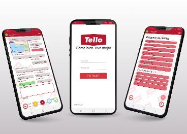 App móvil de Tello