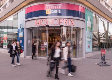 Supermercado Monoprix en Francia