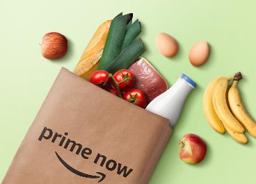Amazon Prime Now y La Plaza de Dia