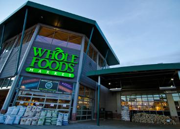 Fachada de tienda Whole Foods Market