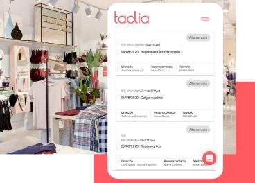 Taclia gestiona reparaciones en retail
