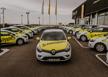 Nuevos vehículos 'ECO' de Schweppes
