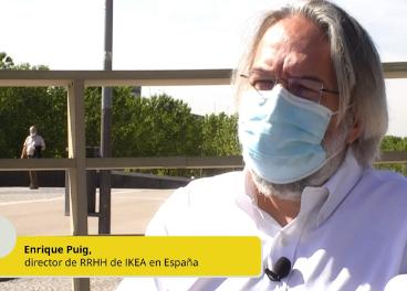 Enrique Puig, director de RRHH de Ikea España