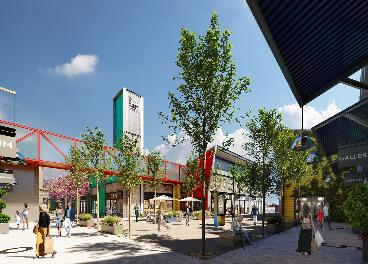 Futuro parque comercial La Torre Outlet Zaragoza