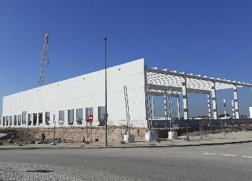 Construcción del Hub Central de Pall-Ex Iberia