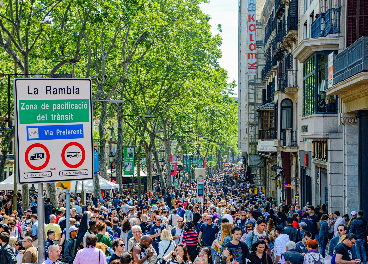 Afluencia calles