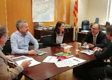 Encuentro de Caprabo y Generalitat