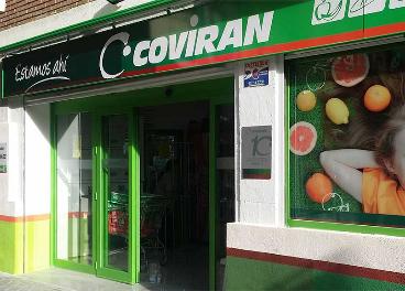 Supermercado de Covirán en Madrid
