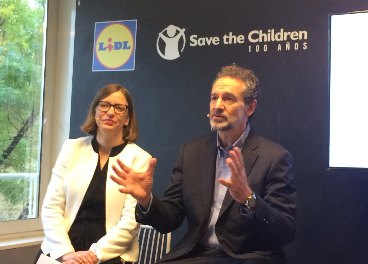 Presentación de Lidl y Save The Children