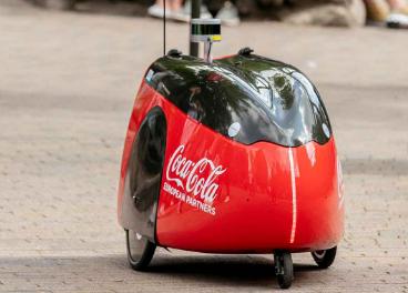 Robot Coca-Cola