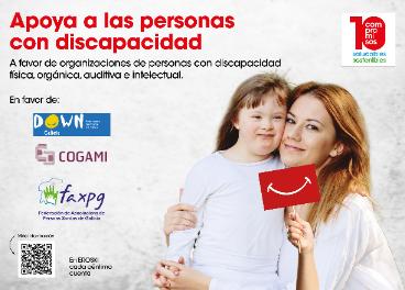 Vegalsa-Eroski apoya a la discapacidad