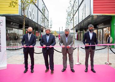 Inauguración de La Torre Outlet Zaragoza