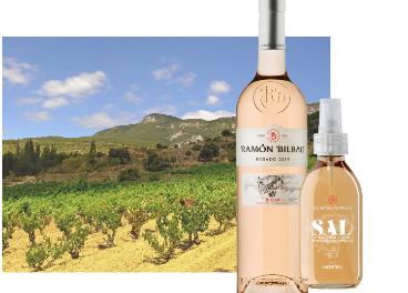 Sal líquida con aroma a rosado de Ramón Bilbao