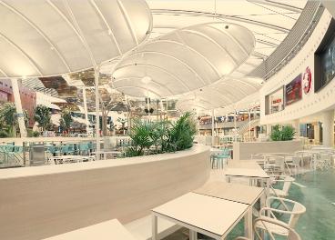 Nueva zona food court de Islazul