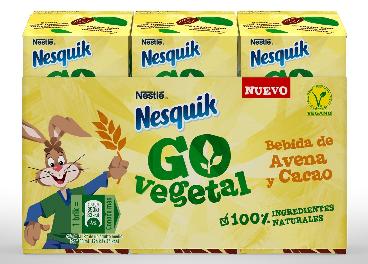 Go Vegetal, de Nesquik (Nestlé)