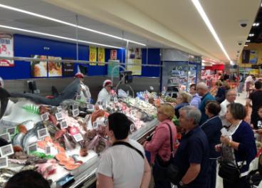 Pescadería Supermercados Gadis