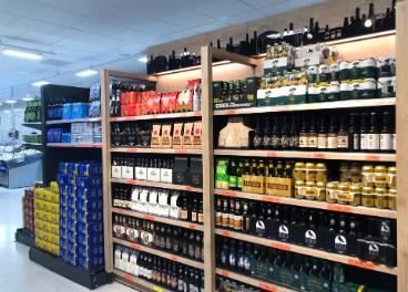 Lineal de cerveza de Mercadona