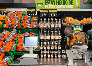 Nuevas botellas para el zumo de Mercadona