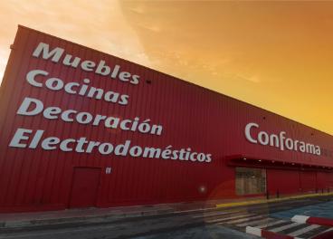 Tienda de Conforama en Castellón