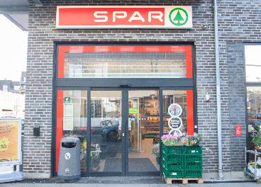 Tienda de Spar en Dinamarca, socia de Ikea