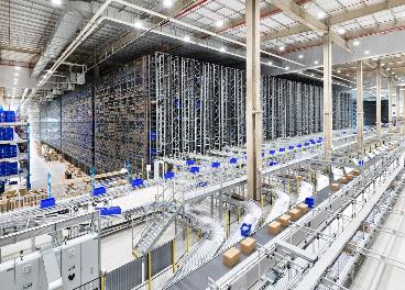 Almacén de Landmark automatizado por Dematic