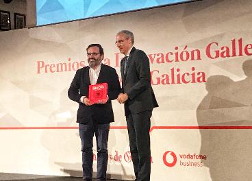 Ignacio González (Pescanova) recoge el premio