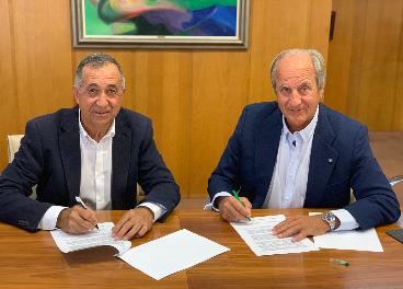 Firma del acuerdo entre Cerealto Siro y Acor