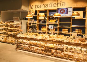 Panadería en supermercado de Carrefour