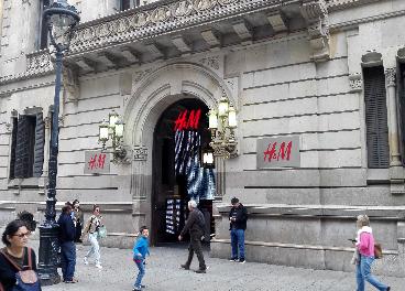 Tienda de H&M en Puerta del Ángel (Barcelona)