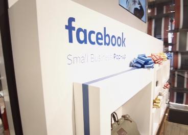 Pop up store de Facebook en Macy's