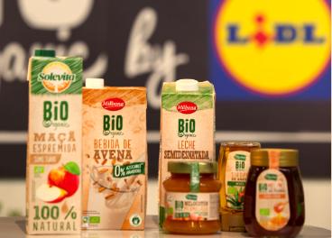 Lidl lidera las ventas de productos bío en España