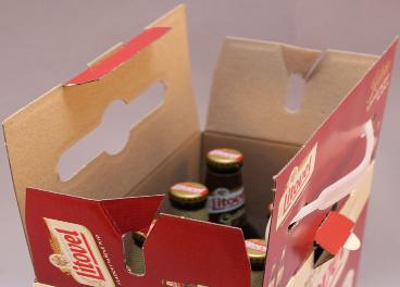 Multipack para cervezas de Smurfit Kappa