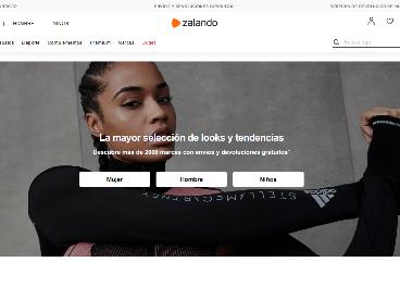 Web de Zalando