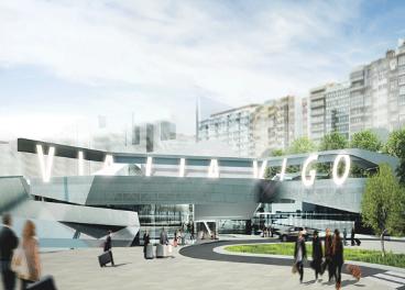 Futuro centro comercial Vialia Vigo