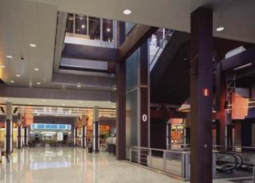 Descenso de afluencia a centros comerciales